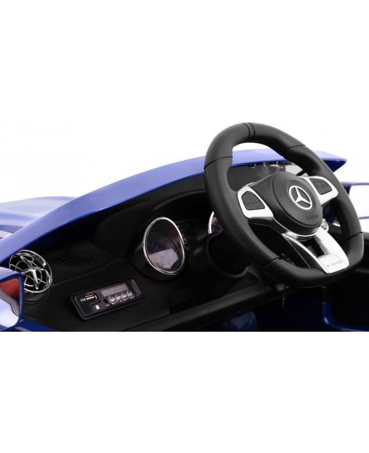 Elektrické autíčko Mercedes AMG SL65 lakované modré